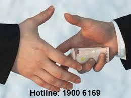 Quy định về tội làm môi giới hối lộ
