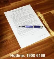 Mẫu giấy ủy quyền của giám đốc hoặc tổng giám đốc