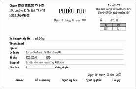Mẫu bảng kê chứng từ thanh toán