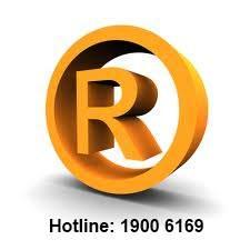 Advising trademark of registration
