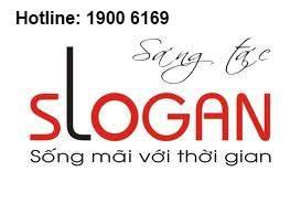 Tư vấn đăng ký bảo hộ thương hiệu, Slogan công ty