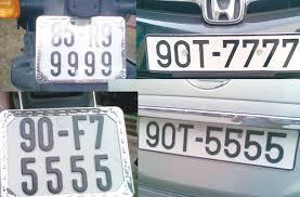 Đổi lại giấy chứng nhận đăng ký xe - biển số xe thế nào?