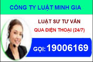 Luật sư tư vấn luật trực tuyến qua tổng đài điện thoại 19006169