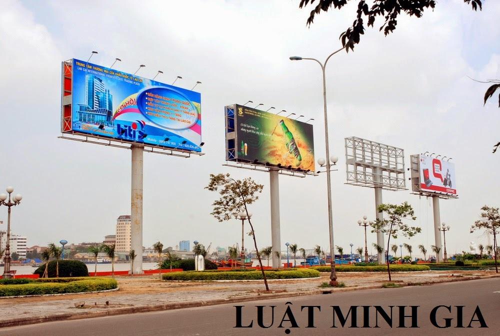 Thủ tục chấp thuận xây dựng tạm thời biển quảng cáo trong phạm vi hành lang an toàn đường bộ