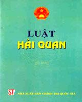 Luật Hải quan số 54/2014/QH13 (Hiệu lực từ 01/01/2015)