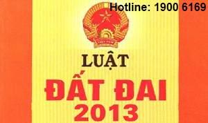Luật Đất đai mới số 45/2013/QH13