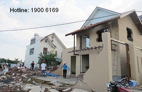 Hành vi xây dựng nhà ở lấn chiếm đất  xung quanh xử lý thế nào?