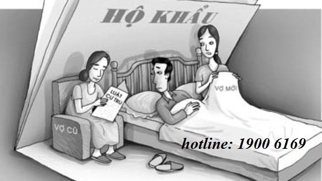 Có được đơn phương tách hộ khẩu của vợ cũ?