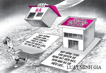 Tư vấn về thủ tục tặng cho quyền sử dụng đất