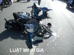 Xe máy gây tai nạn bị tạm giữ sau đó xử lý như thế nào?