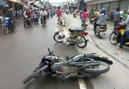 Trách nhiệm bồi thường khi mượn xe gây tai nạn