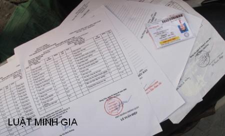 Xử phạt làm giả con dấu tài liệu và phương tiện vi phạm hành chính