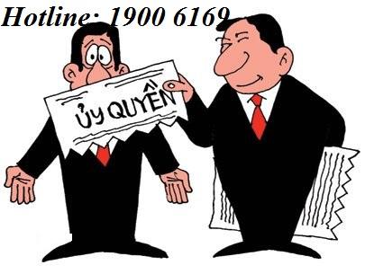Tư vấn về thủ tục thực hiện hợp đồng ủy quyền theo quy định của pháp luật