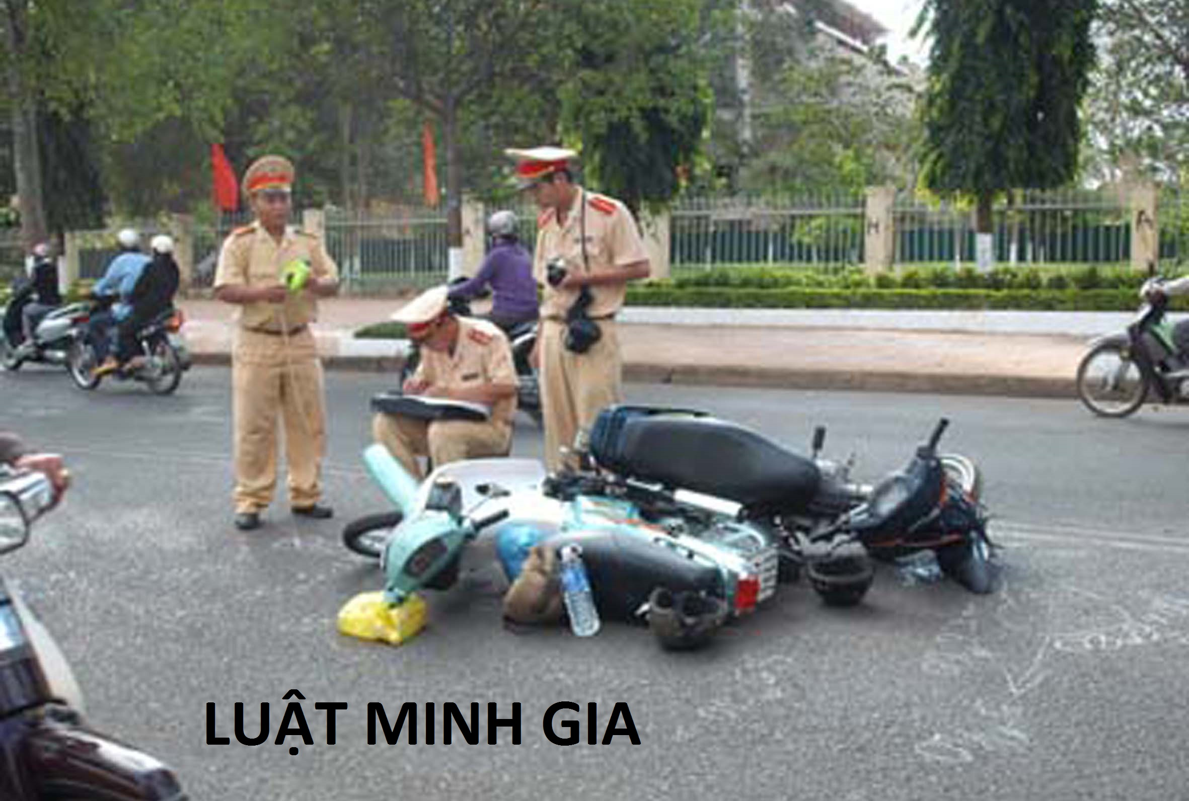 Tư vấn về trường hợp xảy ra tai nạn giao thông