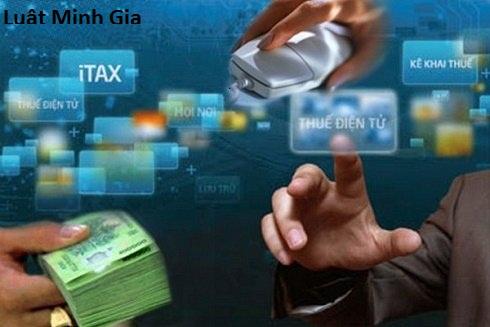 Tư vấn về đối tượng nộp thuế điện tử