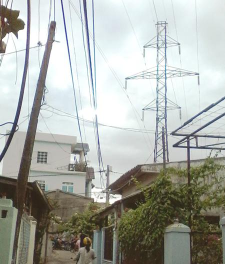 Quy định về công trình, nhà ở dưới đường dây điện cao thế