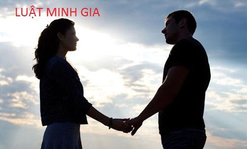 Quan hệ sống chung như vợ chồng nhưng không đăng kí kết hôn