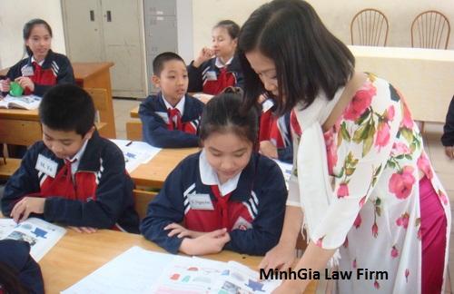 Thời gian giáo viên đi học nâng cao có tính váo thâm niên?