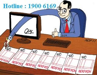 tư vấn về xử lý hành vi lập hoá đơn khống