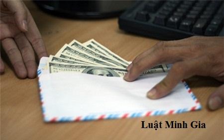 Kiện đòi tài sản đưa hối lộ