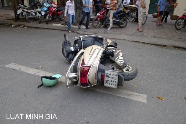 Tư vấn trường hợp tai nạn lao động trên đường đi tới công ty