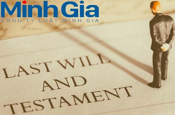 Di chúc được lập theo trình tự, thủ tục như thế nào thì được xác định là hợp pháp?