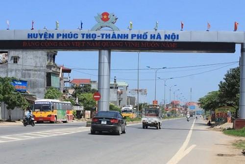 Tòa án nhân dân huyện Phúc Thọ - Tp. Hà Nội
