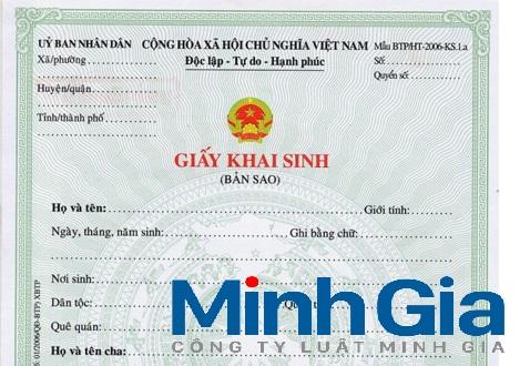 Bổ sung tên cha vào giấy khai sinh của các con sau khi đăng ký kết hôn