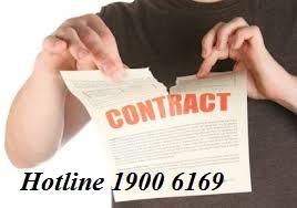 Tư vấn về hướng giải quyết trong trường hợp kết thúc hợp đồng thuê nhà