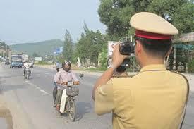 Quy trình xử phạt đối với hành vi điều khiển xe mô tô vượt quá tốc độ cho phép