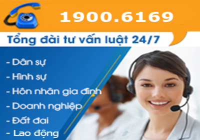Tổng đài luật sư tư vấn trực tuyến 1900 6169