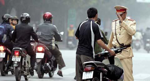 Quy định về xử phạt vi phạm hành chính trong giao thông đường bộ