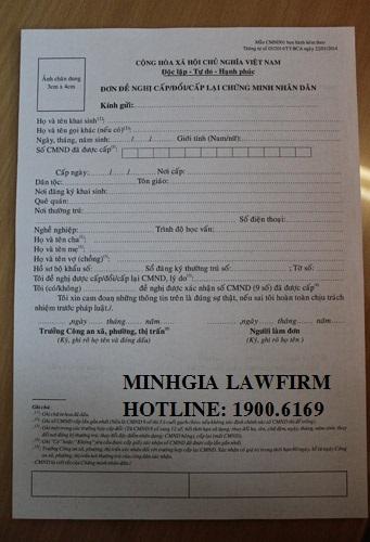 Thủ tục xin cấp Sổ hộ khẩu và Chứng minh thư nhân dân bị mất