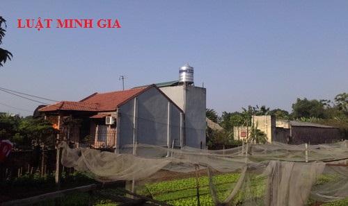 Tư vấn xây dựng nhà trái phép trên đất nông nghiệp