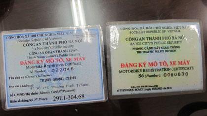Hỏi đáp về vấn đề đăng ký xe đối với xe mô tô, xe máy
