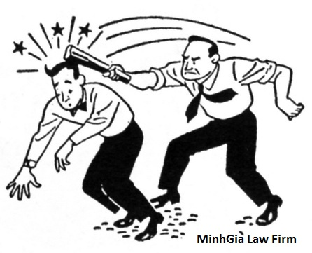 Tội cố ý gây thương tích và gây rối trật tự công cộng