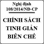 Chế độ được hưởng khi về hưu trước tuổi theo Nghị định 108/2014/NĐ-CP về tinh giảm biên chế