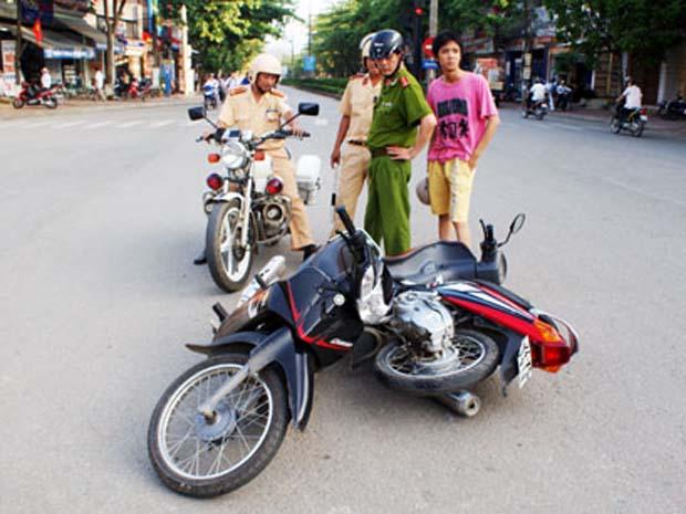 Chế tài áp dụng khi xảy ra tai nạn giao thông đường bộ