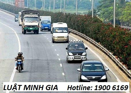 Tham gia giao thông đi sai làn đường gây ra tai nạn