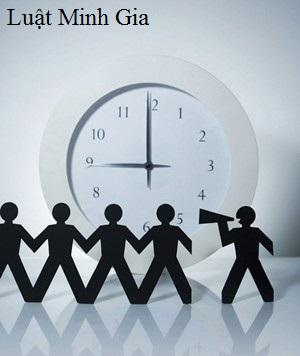 Thời giờ làm việc theo quy định của bộ luật lao động 2012