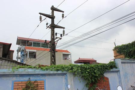 Bồi thường  nhà ở, đất trong hành lang an toàn dẫn điện