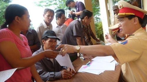 Đăng ký sang tên, di chuyển xe đối với xe chuyển nhiều người sở hữu