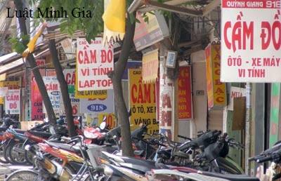Mang xe máy đi cầm cố mà không có sự đồng ý của chủ sở hữu