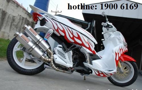 Thợ sửa xe mô tô làm thay đổi kết cấu xe có vi phạm quy định của pháp luật không?