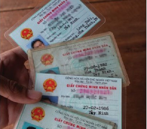 Thay đổi ngày sinh trong giấy khai sinh và chứng minh nhân dân