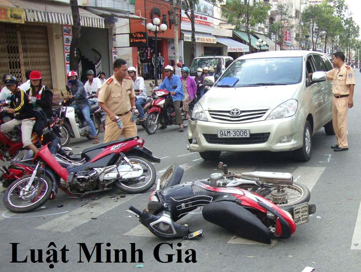 Tư vấn tránh nhiệm bồi thường khi gây tai nạn giao thông