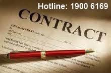 Tư vấn về thời gian báo trước đối với hợp đồng xác định thời hạn