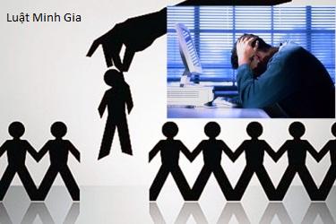 Người lao động nghỉ việc vì lí do thay đổi cơ cấu công nghệ