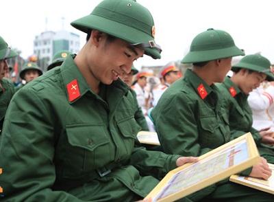 Quy định về trúng tuyển nghĩa vụ quân sự