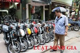 Tư vấn về xử phạt hành chính do chủ sở hữu chưa sang tên xe máy